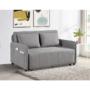 Kép 24/30 - NIKARA kanapé széthúzhatós, világosszürke