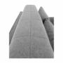 Kép 29/30 - NIKARA kanapé széthúzhatós, világosszürke