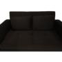 Kép 8/24 - ZAMBA Széthúzhatós kanapé,  barna Velvet anyag