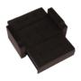 Kép 13/24 - ZAMBA Széthúzhatós kanapé,  barna Velvet anyag