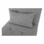 Kép 16/21 - OKSIN fotel ágyfunkcióval,  világosszürke anyag