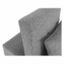 Kép 18/21 - OKSIN fotel ágyfunkcióval,  világosszürke anyag
