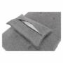 Kép 21/21 - OKSIN fotel ágyfunkcióval,  világosszürke anyag
