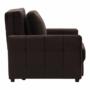 Kép 3/26 - PECHRO Fotel ágyfunkcióval,  csokibarna Velvet anyag