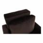 Kép 9/26 - PECHRO Fotel ágyfunkcióval,  csokibarna Velvet anyag