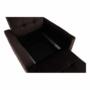 Kép 12/26 - PECHRO Fotel ágyfunkcióval,  csokibarna Velvet anyag