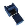 Kép 12/28 - PECHRO Fotel ágyfunkcióval,  királykék Velvet anyag