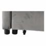 Kép 10/26 - IGRIM Fotel ágyfunkcióval,  világosszürke Velvet anyag