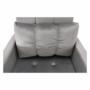 Kép 11/26 - IGRIM Fotel ágyfunkcióval,  világosszürke Velvet anyag