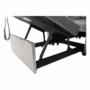 Kép 19/26 - IGRIM fotel ágyfunkcióval,  világosszürke Velvet anyag