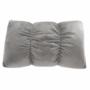 Kép 15/26 - IGRIM Fotel ágyfunkcióval,  világosszürke Velvet anyag