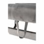 Kép 24/26 - IGRIM fotel ágyfunkcióval,  világosszürke Velvet anyag