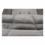Kép 25/26 - IGRIM fotel ágyfunkcióval,  világosszürke Velvet anyag
