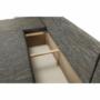Kép 27/27 - STILA Univerzális ülőgarnitúra,  fehér/szürkésbarna