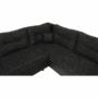 Kép 7/21 - STILA Univerzális ülőgarnitúra,  fekete/fekete melír