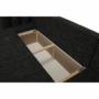 Kép 9/21 - STILA Univerzális ülőgarnitúra,  fekete/fekete melír