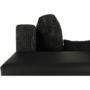 Kép 6/19 - ESSEN Univerzális ülőgarnitúra,  fekete/fekete melír