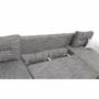 Kép 6/29 - ESSEN Univerzális ülőgarnitúra,  fehér/szürkésbarna