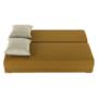 Kép 5/18 - ZACA Széthúzhatós kanapé,  mustár/bézs