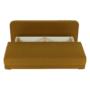 Kép 6/18 - ZACA Széthúzhatós kanapé,  mustár/bézs