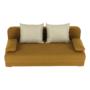 Kép 7/18 - ZACA Széthúzhatós kanapé,  mustár/bézs