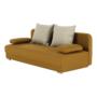 Kép 8/18 - ZACA Széthúzhatós kanapé,  mustár/bézs