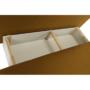 Kép 15/18 - ZACA Széthúzhatós kanapé,  mustár/bézs