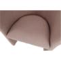 Kép 5/16 - CUBA Fotel,   pasztell rózsaszín anyag