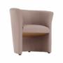Kép 7/16 - CUBA Fotel,   pasztell rózsaszín anyag