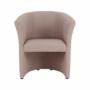 Kép 8/16 - CUBA Fotel,   pasztell rózsaszín anyag