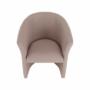 Kép 11/16 - CUBA Fotel,   pasztell rózsaszín anyag