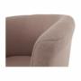 Kép 13/16 - CUBA Fotel,   pasztell rózsaszín anyag
