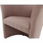 Kép 15/16 - CUBA Fotel,   pasztell rózsaszín anyag