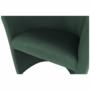 Kép 8/17 - CUBA Fotel,  smaragd anyag