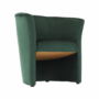 Kép 10/17 - CUBA Fotel,  smaragd anyag