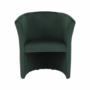 Kép 11/17 - CUBA Fotel,  smaragd anyag