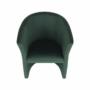 Kép 15/17 - CUBA Fotel,  smaragd anyag