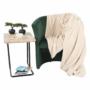 Kép 16/17 - CUBA Fotel,  smaragd anyag
