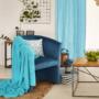 Kép 3/16 - CUBA Fotel,  kék anyag
