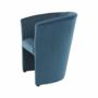 Kép 7/16 - CUBA Fotel,  kék anyag