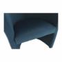 Kép 10/16 - CUBA Fotel,  kék anyag