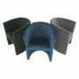 Kép 14/16 - CUBA Fotel,  kék anyag