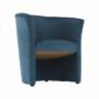 Kép 15/16 - CUBA Fotel,  kék anyag
