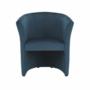Kép 16/16 - CUBA Fotel,  kék anyag