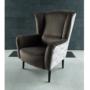 Kép 4/4 - BELEK Design fotel,  Velvet anyag barna/minta Terra