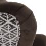 Kép 10/17 - BELEK design füles fotel,  Velvet anyag barna/minta Terra