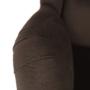 Kép 14/17 - BELEK design füles fotel,  Velvet anyag barna/minta Terra