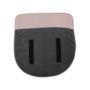 Kép 4/27 - FADOR Füles fotel,  rózsaszín/bükk