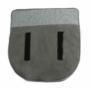 Kép 11/31 - FADOR Füles fotel,  mentol/bükk