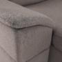 Kép 2/23 - SEGORIA Ülőgarnitúra - szükésbarna Taupe,  balos kivitel [ROH U]